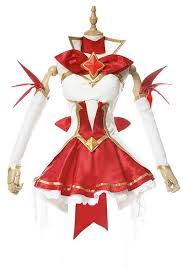 lol league of legends star guardian miss fortune dress cosplay