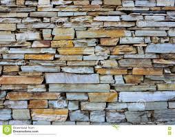 Stone Wall Texture Dry Stone Wall Texture Stock Photo Image 76619739