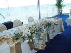 Bridal florist Rieko Sato Table Decorations