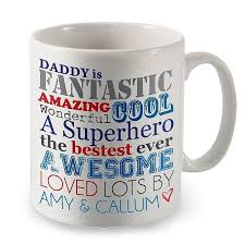 fathers day mug personalised mug for by letteroom notonthehighstreet