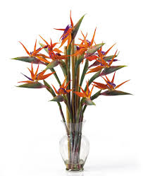 Artificial Flowers In Vase Wholesale Birds Of Paradise Very Popular In Tropical Arrangements Types