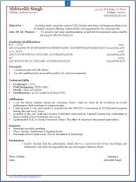 sample resume for freshers btech cse resume ixiplay free resume