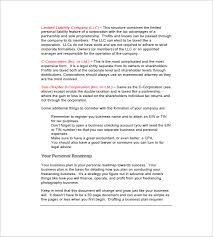 photography business plan template 12 free sample example