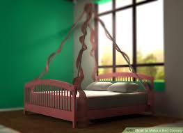 Poster Bed Canopy 3 Ways To Make A Bed Canopy Wikihow