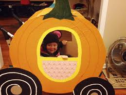 pumpkin costume halloween pumpkin carriage stroller costume costumes pinterest