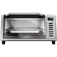 Spacesaver Toaster Oven Black Decker 4 Slice Stainless Steel Toaster Oven To1380ss