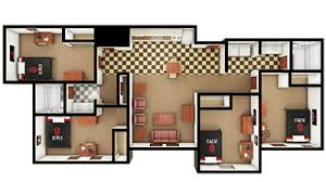 four bedroom townhomes riverwalk apartments first year housing options explore on