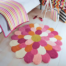 Purple Flower Rug Funky Flower Rugs 42702 By Harlequin Kids Free Uk Delivery The