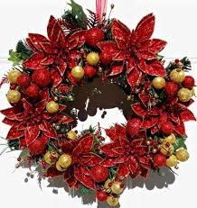 how to make wreaths poinsettia christmas wreath tutorial intelligent domestications