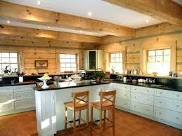 Kitchen Cabinet Hardware Brushed Nickel Astounding Log Cabin Kitchen Layouts Using White Modern Cabinet