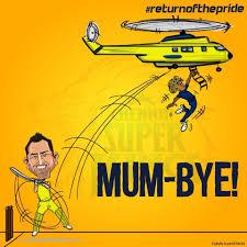 digitally inspired media cartoon ipl dhoni pinterest