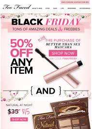 sephora thanksgiving sale too faced black friday 2017 sale u0026 cosmetics deals blacker friday