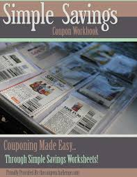 kitchen collection printable coupons free coupon workbook i simple saving
