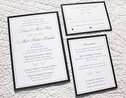 formal wedding invitations navy blue gold border scroll formal wedding invitations