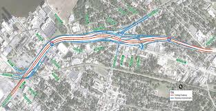 Map Jacksonville Florida by Fdot I 95 Overland Bridge Replacement Project