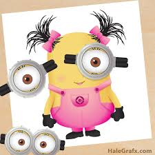 free printable despicable minion play money