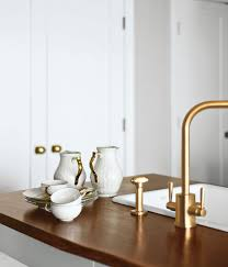 kitchen faucets brass brass hardware and fixtures are back