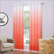 Kitchen Sheer Curtains by Kitchen Orange Sheer Curtains Walmart Orange And Brown Living