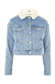 jacket moto moto fitted denim jacket topshop