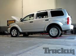 Dodge Durango Truck - cost effective modifications 2008 dodge durango truckin magazine