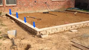 Build Paver Patio How To Build A Paver Patio On A Slope Paver Patio Slope Wall Fix