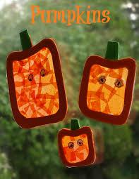 pumpkin halloween decorations decoration tissue paper and window
