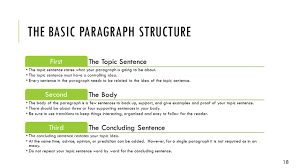 Examples Of Topic Sentences For Essays From Paragraph To Essay How They Are Alike And Different Ppt Download