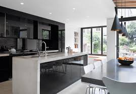 black and white kitchen cabinets 31 black kitchen ideas for the bold modern home freshome com