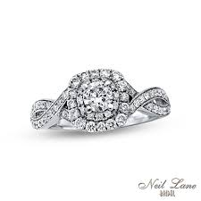 neil engagement neil bridal collection 3 4 ct t w diamond vintage style