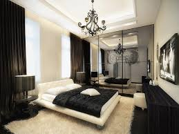 Remarkable Black Wooden Desk And Beautiful White Soft Carpet