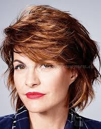 short hairstyles over 50 layered bob hairstyle trendy
