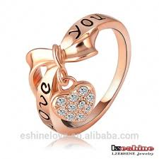 crystal rings wholesale images Lzeshine 18k rose gold plated crystal heart ring wholesale jpg