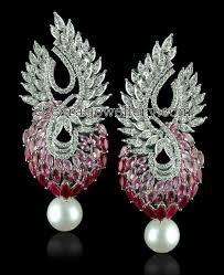 Diamond Chandeliers Chandelier Diamond Earrings Jewellery Designs