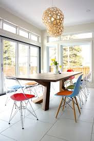 Eames Dining Chair Eames Chairs Dining Room Contemporary With Transparent Eames Side