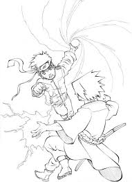 naruto shippuden sasuke final battle coloring sheets 190297