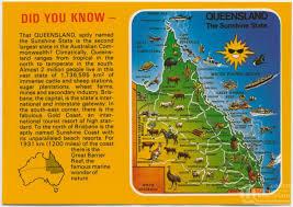 map of queensland home queensland places