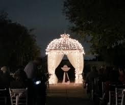 Lighted Music Gazebo by Formal Romantic Aisle Runner Altar Arch Arrangements Ballroom