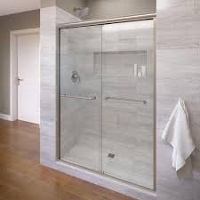 Sliding Shower Doors For Small Spaces Frameless Pivot Shower Door Cost Of Glass Installation Sliding