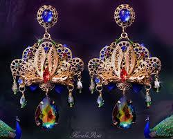 kerala earrings 71 best kerala chandelier earrings shawls images on