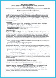 Resume For Web Developer Resume Database Free Resume Template And Professional Resume
