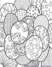abstract easter coloring pages easter coloring pages fun doodle style coloring pages for all sorts