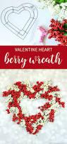 that u0027s what che said heart berry wreath valentines wreath