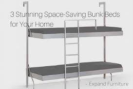 Beds Bunk 3 Stunning Space Saving Bunk Beds Expand Funiture