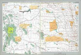 Las Americas Map by The National Atlas Of The United States Of America Perry