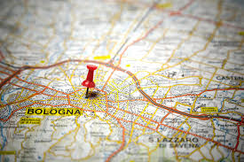 map of bologna road map stock image image of italian route bologna 31924941