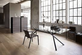 Black Wood Dining Chair Black Faux Leather Tall Backrest Dining Chairs Minimalist Dining