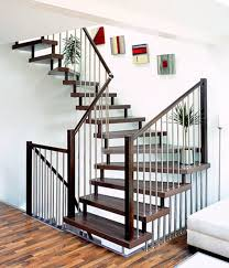 Unique Stairs Design Home Interior Cool Staircase Design With Optical Illusion