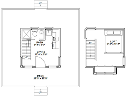 Floor Plan Room Dimensions Shown Are Inside Wall To Inside Wall 20x20 Home Plans