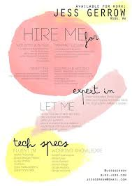 What Font Is Good For A Resume Dissecting The Good And Bad Resume In A Creative Field Emily