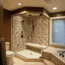 Walk In Bathroom Shower Ideas Inspiring Walk In Shower Plans Decoration New At Home Security